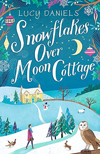 Snowflakes over Moon Cottage By Lucy Daniels
