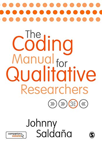 The Coding Manual for Qualitative Researchers Third Edition By Johnny Saldana
