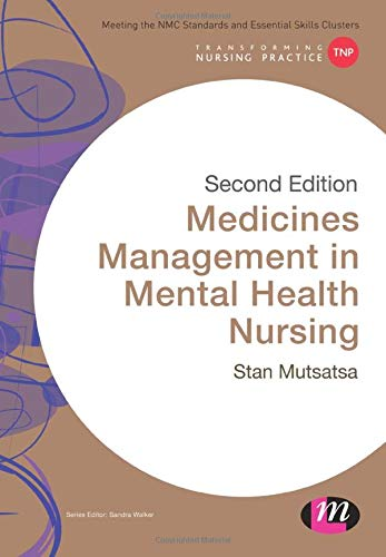 Medicines Management in Mental Health Nursing By Stanley Mutsatsa