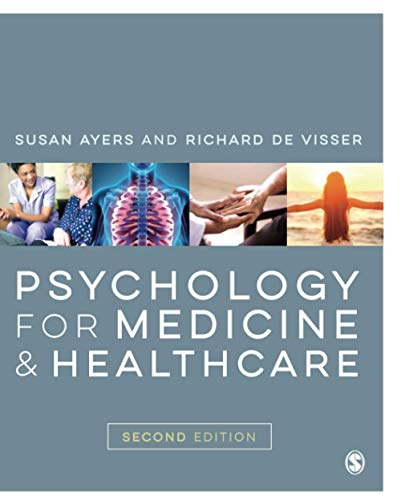 Psychology for Medicine and Healthcare By Susan Ayers
