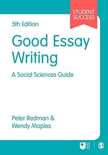 Good Essay Writing By Peter Redman