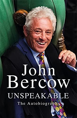 Unspeakable von John Bercow