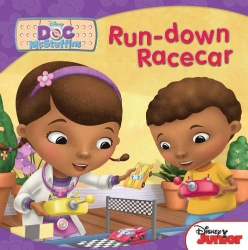 Disney Carry-Along Story Books Doc Mcstuffins: Run-Down Racecar
