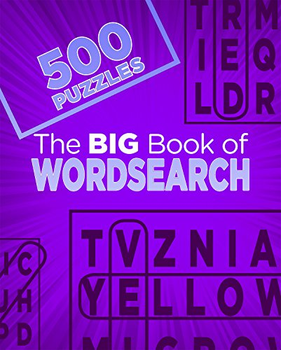 The Big Book of Wordsearch By Parragon Books