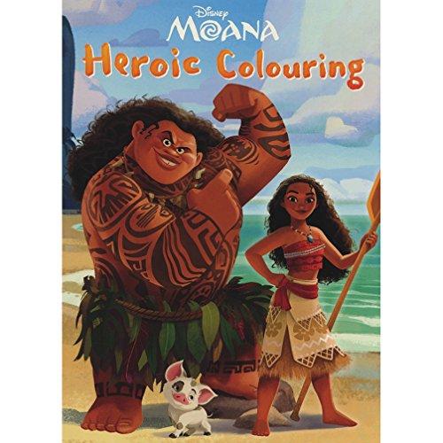 Disney Moana Heroic Colouring By Parragon Books Ltd