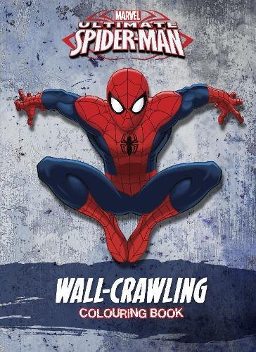 Marvel Spider-Man Wall-Crawling Colouring Book By Parragon Books Ltd