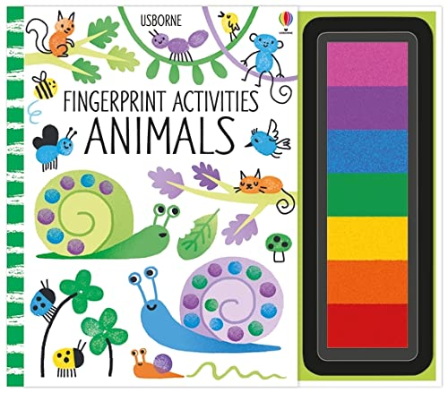 Fingerprint Activities: Animals By Fiona Watt