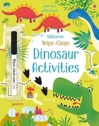 Wipe-Clean Dinosaur Activities By Kirsteen Robson