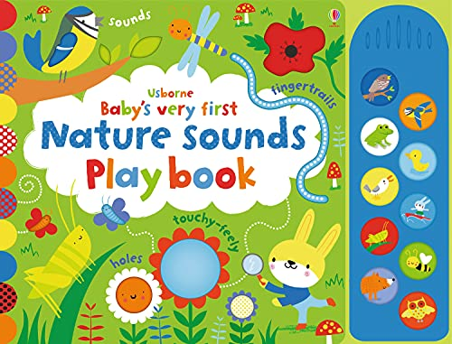 Baby's Very First Nature Sounds Playbook By Fiona Watt