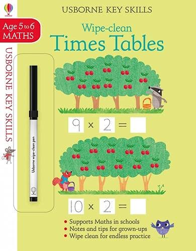Wipe-Clean Times Tables 5-6 By Holly Bathie
