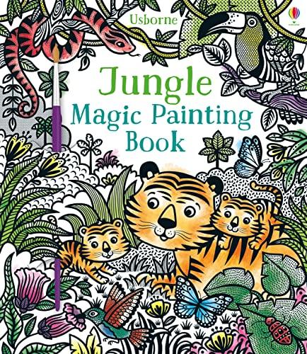 Jungle Magic Painting Book von Sam Taplin