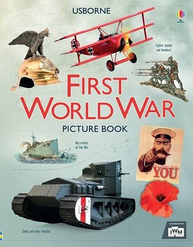 First World War Picture Book By Henry Brook