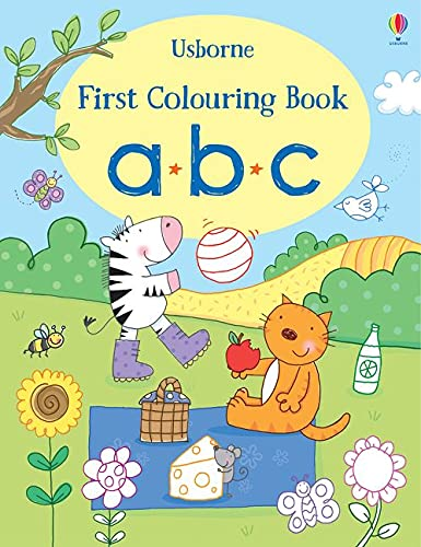 First Colouring Book ABC By Stacey Lamb