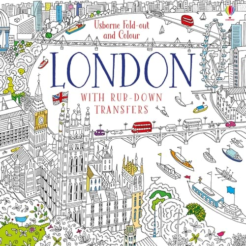 Fold-out & Colour London By Ruth Russell