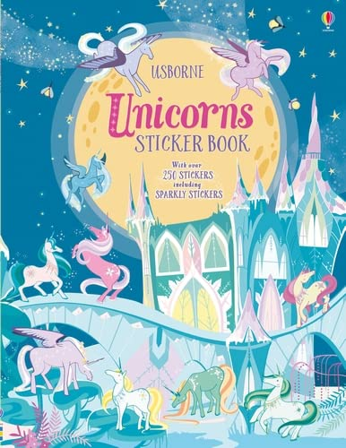 Unicorns Sticker Book (Sticker Books) By Fiona Watt