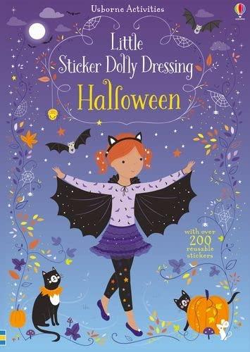 Little Sticker Dolly Dressing Halloween By Fiona Watt
