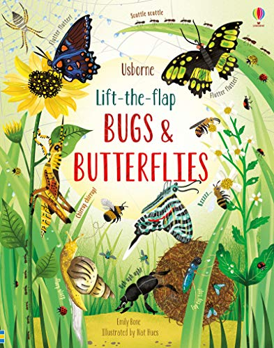 Lift-the-Flap Bugs and Butterflies By Emily Bone