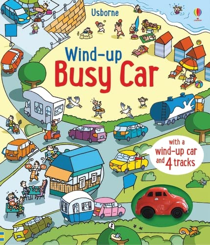 Wind-Up Busy Car By Fiona Watt