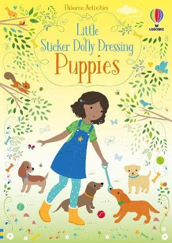 Little Sticker Dolly Dressing Puppies By Fiona Watt