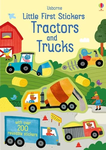 Little First Stickers Tractors and Trucks By Hannah Watson (EDITOR)