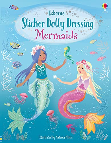 Sticker Dolly Dressing Mermaids By Fiona Watt