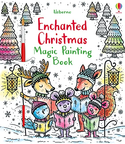 Enchanted Christmas Magic Painting Book von Fiona Watt