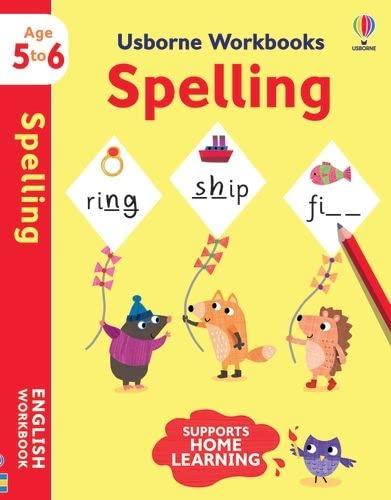 Usborne Workbooks Spelling 5-6 von Jane Bingham (EDFR)