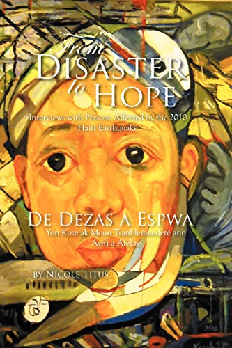 From Disaster to Hope By Nicole Titus