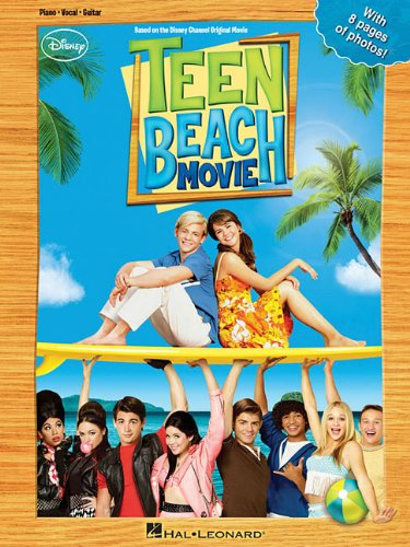 Teen Beach Movie PVG Songbook Bk by