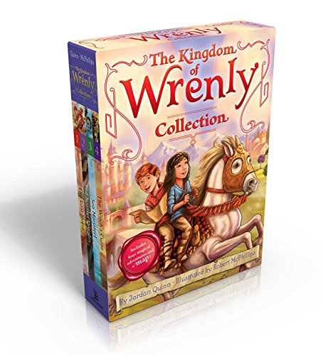 The Kingdom of Wrenly Collection (Includes Four Magical Adventures and a Map!) von Jordan Quinn