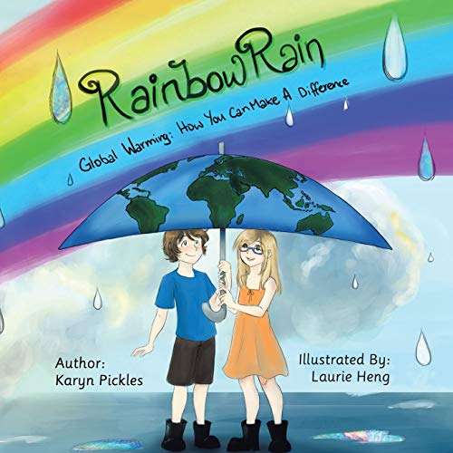 Rainbow Rain By Karyn Pickles