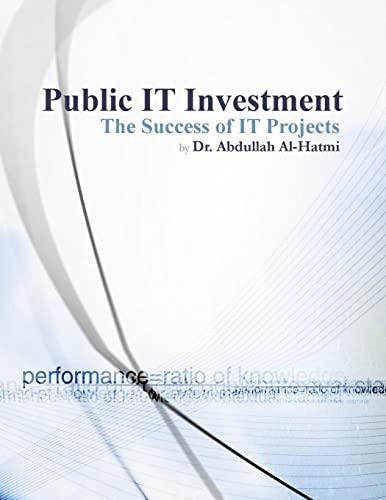 Public It Investment By Dr Abdullah Ali Al-Hatmi