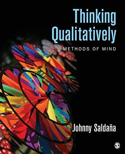 Thinking Qualitatively By Johnny Saldana
