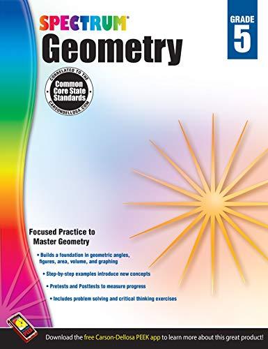 Spectrum Geometry, Grade 5 By Spectrum