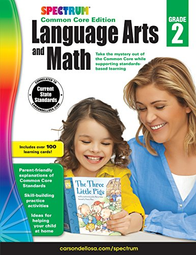 Spectrum Language Arts and Math, Grade 2 By Spectrum