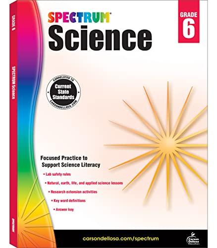 Spectrum Science, Grade 6 By Spectrum