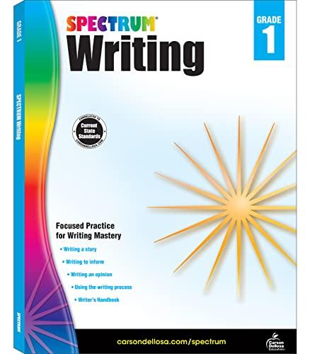 Spectrum Writing, Grade 1 By Spectrum