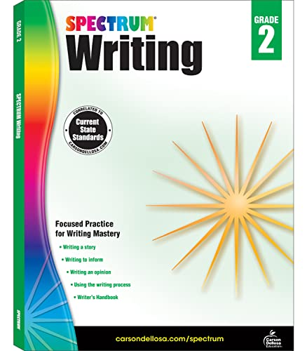 Spectrum Writing, Grade 2 By Spectrum
