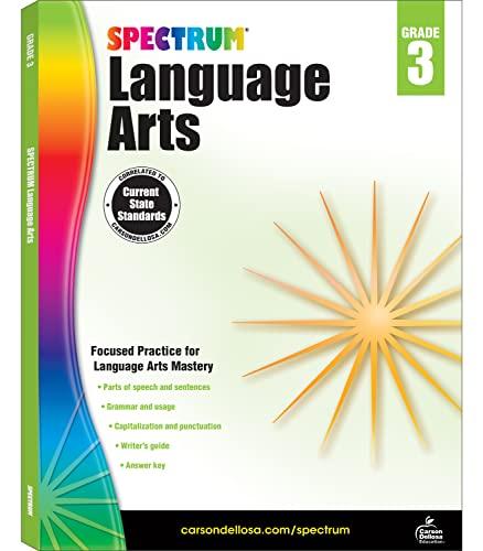 Spectrum Language Arts, Grade 3 By Spectrum