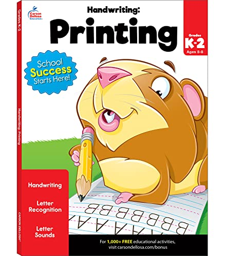 Handwriting: Printing Workbook By Compiled by Brighter Child