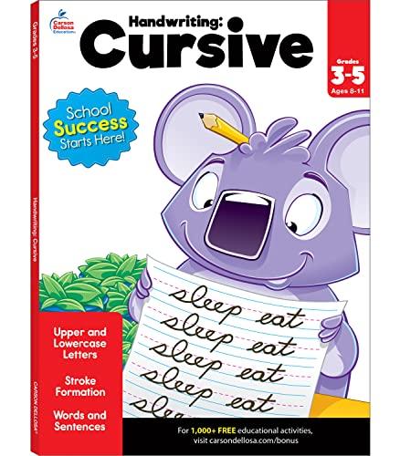 Handwriting: Cursive Workbook By Brighter Child
