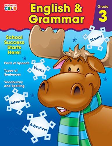 English & Grammar Workbook, Grade 3 By Brighter Child