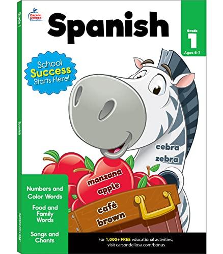 Spanish Workbook, Grade 1 By Brighter Child