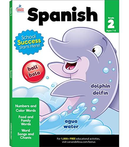 Spanish Workbook, Grade 2 By Brighter Child