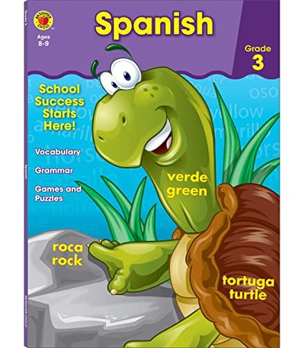 Spanish Workbook, Grade 3 By Brighter Child