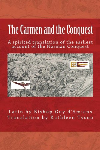 The Carmen and the Conquest By Bishop of d'Amiens Guy