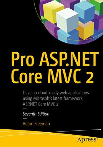 Pro ASP.NET Core MVC 2 By Adam Freeman