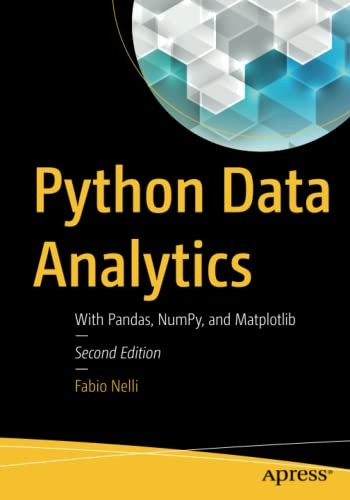 Python Data Analytics By Fabio Nelli