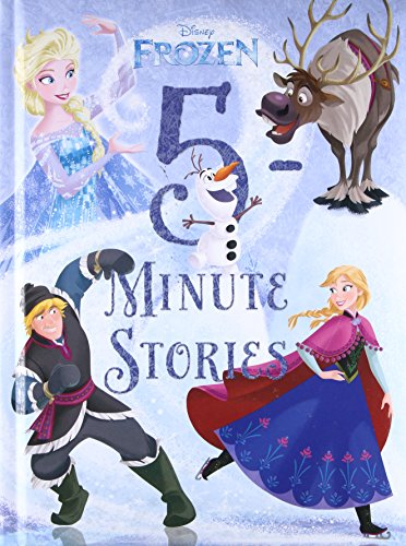 5-Minute Frozen Stories By Disney Book Group