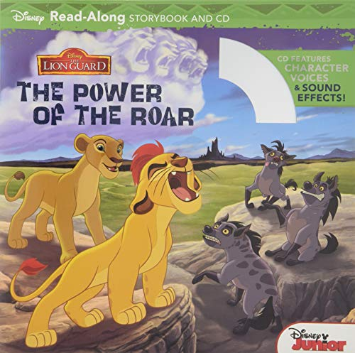 The Lion Guard Read-Along Storybook and CD the Power of the Roar von Disney Books